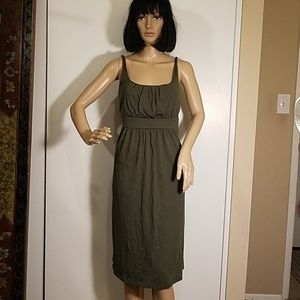 NWT Old Navy Maternity Dress Olive Green